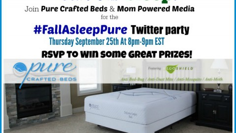 Join us for the #FallAsleepPure Twitter Party!