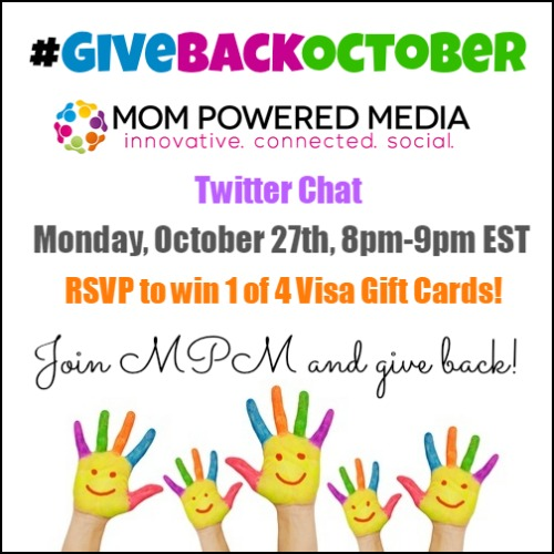 GiveBackOctober Twitter Party