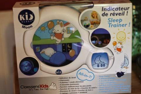Sleep Training with the Kid'Sleep Moon Review & Giveaway