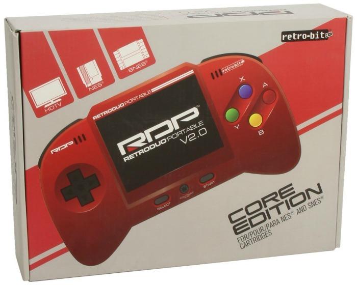 portable retro bit core edition red