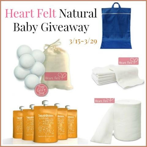 Heart Felt Naturals Baby Giveaway