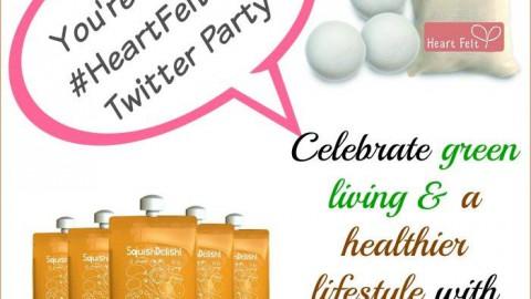 #HeartFeltFam Twitter Party, March 20th
