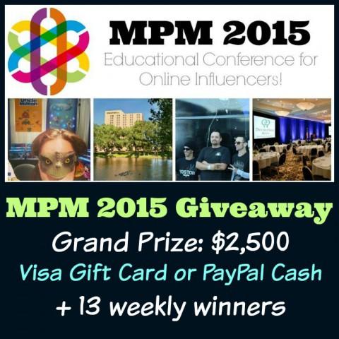MPM 2015 $2,500 Sweepstakes