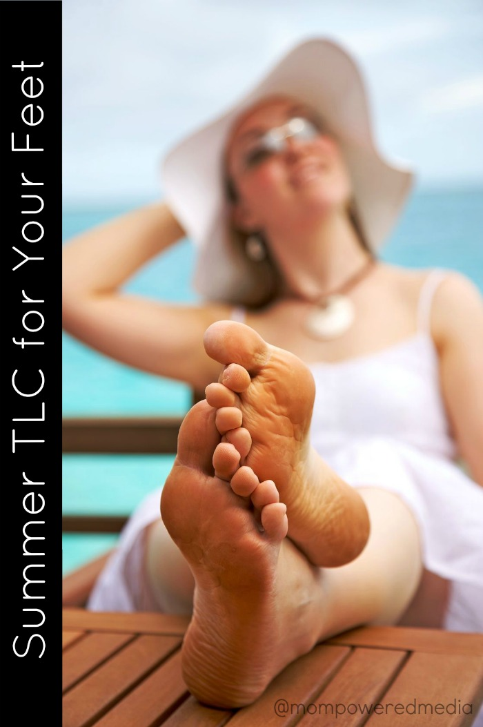 Summer TLC for Your Feet